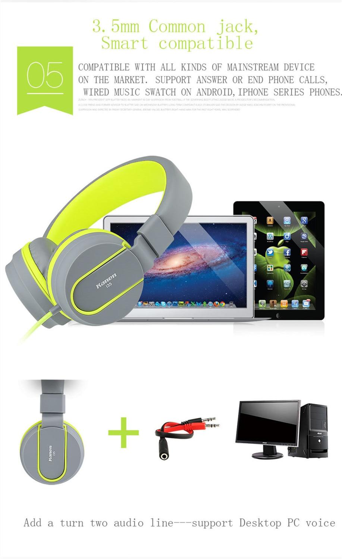 feeya I35 Adjustable Headset Earphone Detachable Earbuds Headphone fone de ouvido with Microphone for Cellphone,Computer