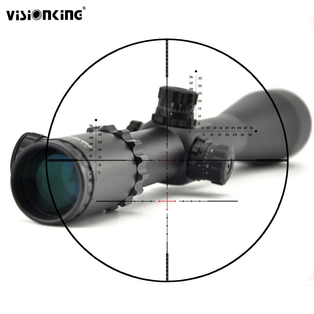 Visionking 10 40x56 Side Focus Rifle Scope Long Range Mira Telescopica 308 338 50 Cal Illuminated