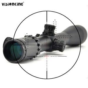 Image 1 - Visionking 10 40x56 телескопический прицел с боковой фокусировкой дальнего действия Mira. 1/308. 50 калибр, прицел для охоты с подсветкой
