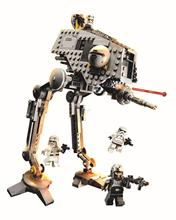 Star Wars New Bela 10376 AT-DP walking mecha children Figure Toys building blocks set marvel  with