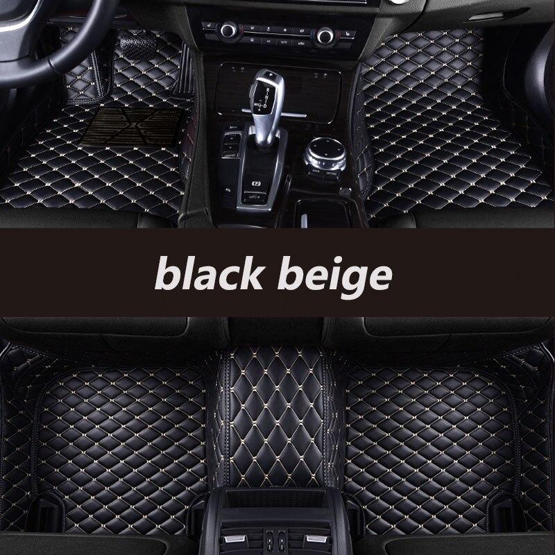 Tapis de sol de voiture personnalisés kalaisike pour Mercedes Benz tous les modèles E C GLA GLE GL CLA ML GLK CLS S R A B CLK SLK G GLS GLC vito viano - 3