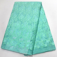 High Quality Rhinestones african Swiss Voile Lace 2018 African Polish Swiss Cotton Voile Lace Fabric For men and women