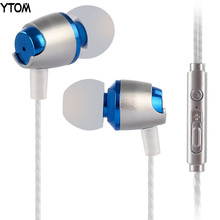 Sound quality bass earphone earbuds with mic for xiaomi iphone 6 5 samsung note huawei meizu Handsfree Headset for Phone pc MP3