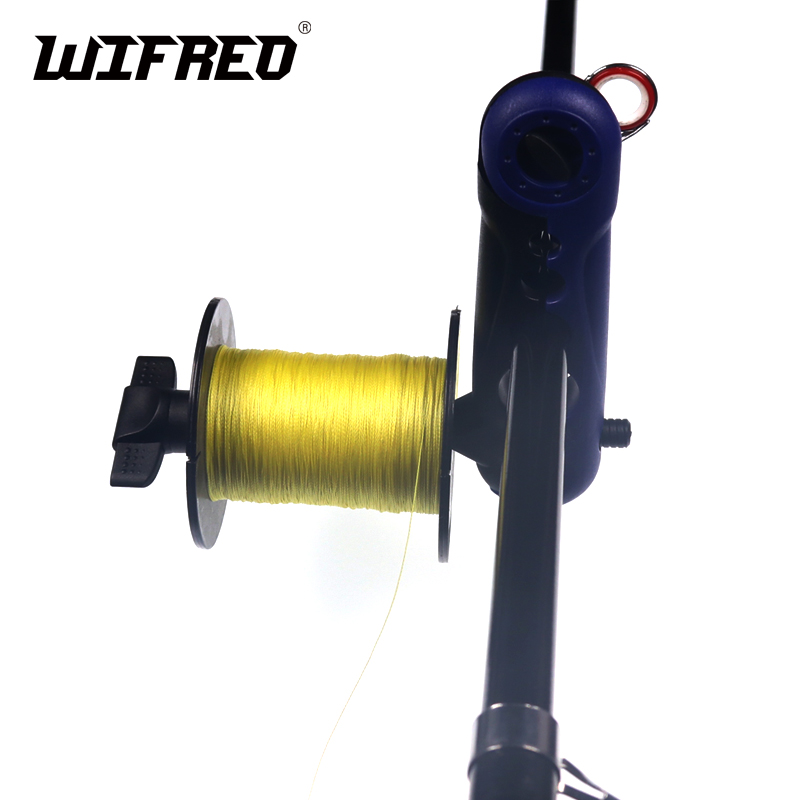 Wifero 1 Piece New Fishing Rod Mount Bass Fishing Line Winding Tool Fish Line Loading Spool Holder Carp Fishing Accessories