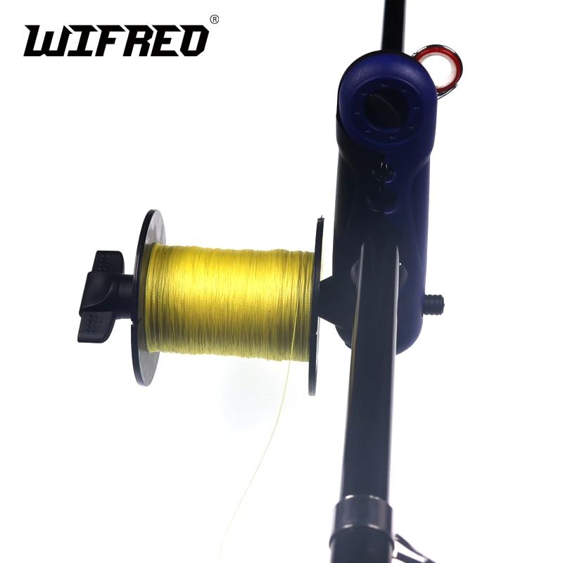 Wifero 1 Piece New Fishing Rod Mount Bass Fishing Line Winding Tool Fish Line Loading Spool Holder Carp Fishing Accessories