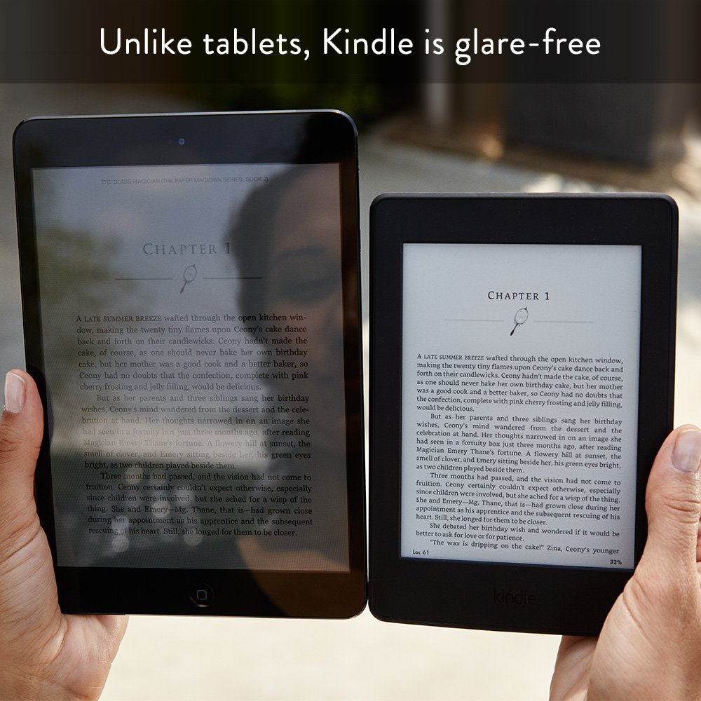 """Kindle Paperwhite White 32GB eBook e-ink Screen WIFI 6""""LIGHT Wireless Reader With built-in backlight e-Book Reader 6"""