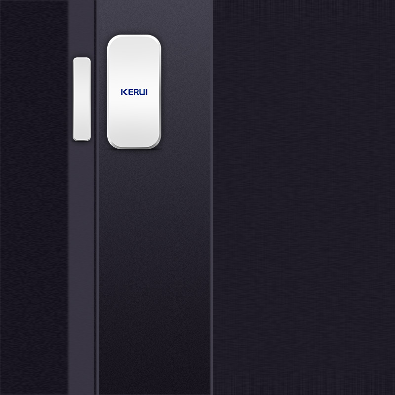 Image 4 - KERUI  433MHz Door Window Alarm Sensor Wireless Magnetic Switch Contact Detector Signaling for Intruder Security Alarm System-in Sensor & Detector from Security & Protection