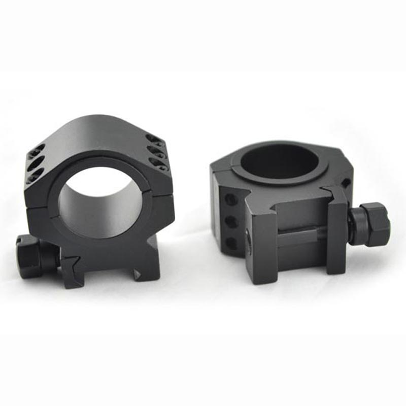 TOTEN Rifle Scope Mounts 1 Pair of Picatinny for 30mm and 25.4mm Tube 21mm Rail Mounting Rings Three Nails Rifle scope Bracket