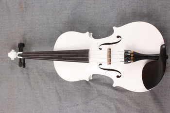 new 4-String white  4/4  Electric Acoustic Violin   color   #1-2511#  what color do you like?
