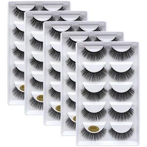 Image 5 - 25 pares 3d vison cílios por atacado natural cílios postiços 3d vison cílios macios extensão cílios falsos cilios g806 g800