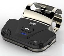 Envío Gratis Volante Altavoz Bluetooth Inalámbrico Bluetooth Car Kit manos Libres con el Cargador Del Coche en el Coche