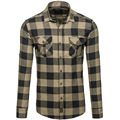 Men Casual Long Sleeve Shirts Cotton Plus Size Plaid Shirts Men Pure Cotton And Comfortable Camisa Slim Fit Mens Clothing