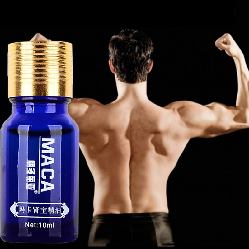 Men Thickening Dick Enlargement Pene Enlarge Delay Ejaculation Maca Massage Oil Man Big Cock Dick Growth Increase Liquid 10ML