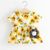 lackytaa 1-3 Years 2017 baby girl dress summer toddler infant girl dress princess cute casual clothing clothes