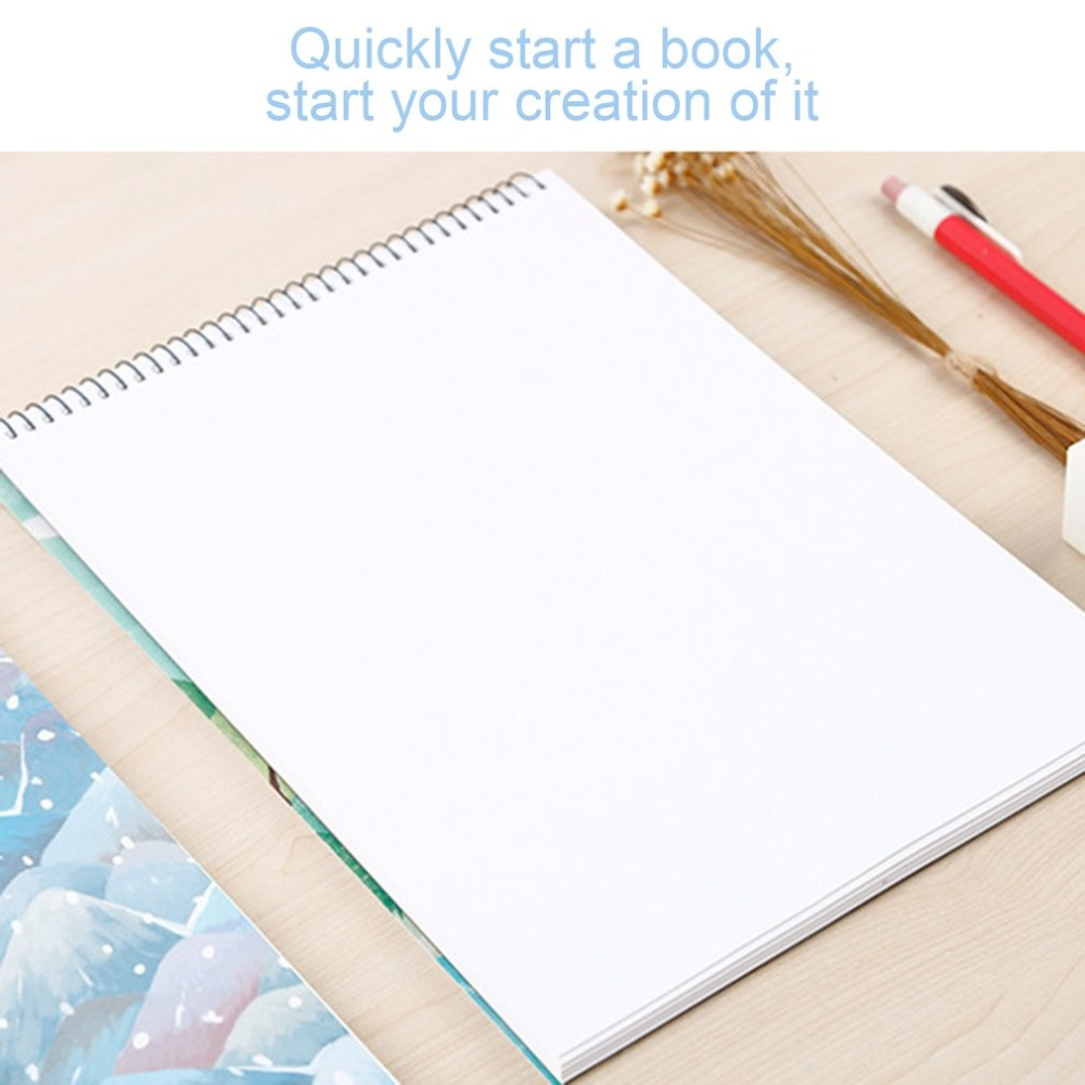 a4 portable size school students notebook paper sketch book office