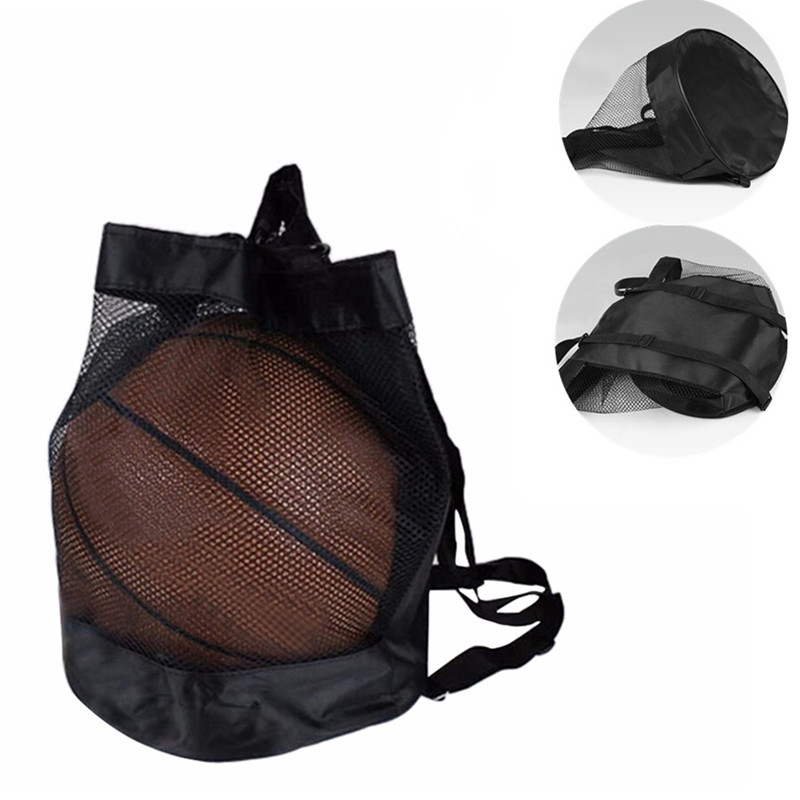 Basketball Backpack Oxford Cloth Shoulder Messenger Bag Basketball Net Bag Volleyball Football Bag