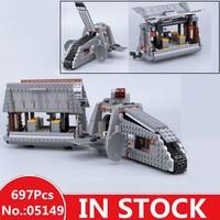 H&HXY 05149 Star Plan Series The 75217 Imperial Conveyex Transport Wars Set Building Lepin Blocks Bricks Toys Christmas Giftis