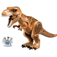 Hot Sale Jurassic Dinosaur Tyrannosaurus Rex DIY Model Legoings Building Blocks Kits Toys For Children Birthday