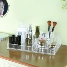 Transparent Creative dressing table, jewelry box, desktop transparent acrylic lipstick box 32*21cm