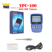2016 Newest VPC 100 Hand Held Vehicle PinCode Calculator (with 300+200 Tokens ) Life Time Free Update VPC100 Calculator