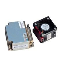 Вентилятор для сервера DL380e G8 Процессор комплект охлаждения радиатора 663673-001 677090-001 Вентилятор 654577-001 662520-001 server Upgrade kit вентилятор + радиатор