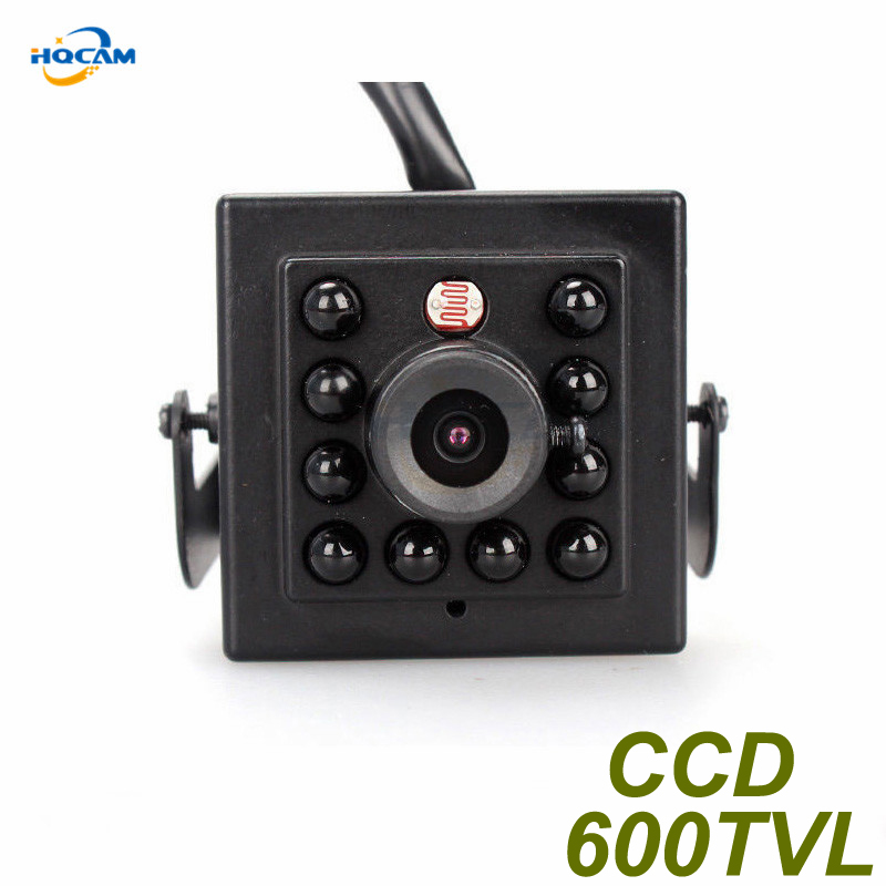 HQCAM Night Vision CAMERA 600TVL Sony CCD Camera with 10PCS 940nm led Security Indoor CCTV camera mini IR Infrared Night Vision kitchen aisle stair light wall lamp vintage iron fabric lampshade decor sconces indoor home lighting gift e14 3w led bulb 220v