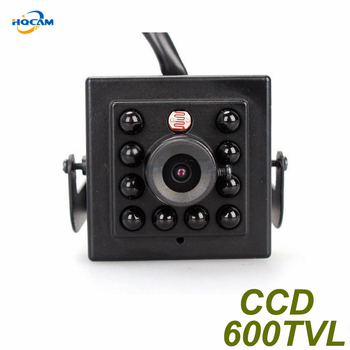 HQCAM Night Vision CAMERA 600TVL Sony CCD Camera with 10PCS 940nm led Security Indoor CCTV camera mini IR Infrared Night Vision 0 3mp mini ir night vision webcam cctv face detection usb camera with driver and software