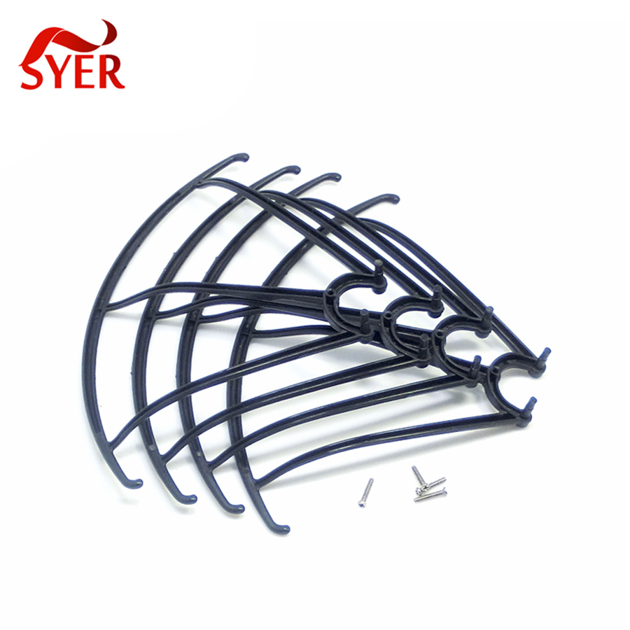 Black Color 100 Set 4 Pcs Syma X5c X5 1 X5sc X5sw Spare Drone Guard Circle Protecting Frame Ring Part For Rc Quadcopter