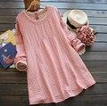 Весна Осень Беременных Платья Свободные Одежда для Беременных Хлопок Белье Беременных Материнства Платье Одежда для Беременных