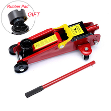 Car Jack General Foldable Horizontal Hydraulic Handle Scissor 1T Truck general Lifting Floor Wheel Repair Tool