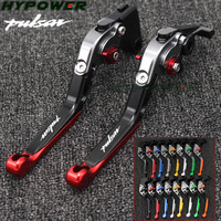 For Bajaj Pulsar 200 NS All Years Hot High quality CNC Motorcycle Foldable Extending Brake Clutch Lever And Moto 170mm Lever