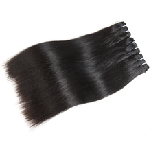 Straight Virgin Brazilian Hair Bundles Blonde 613/Natural Black/1b-613 100% Human Hair Weave Bundles