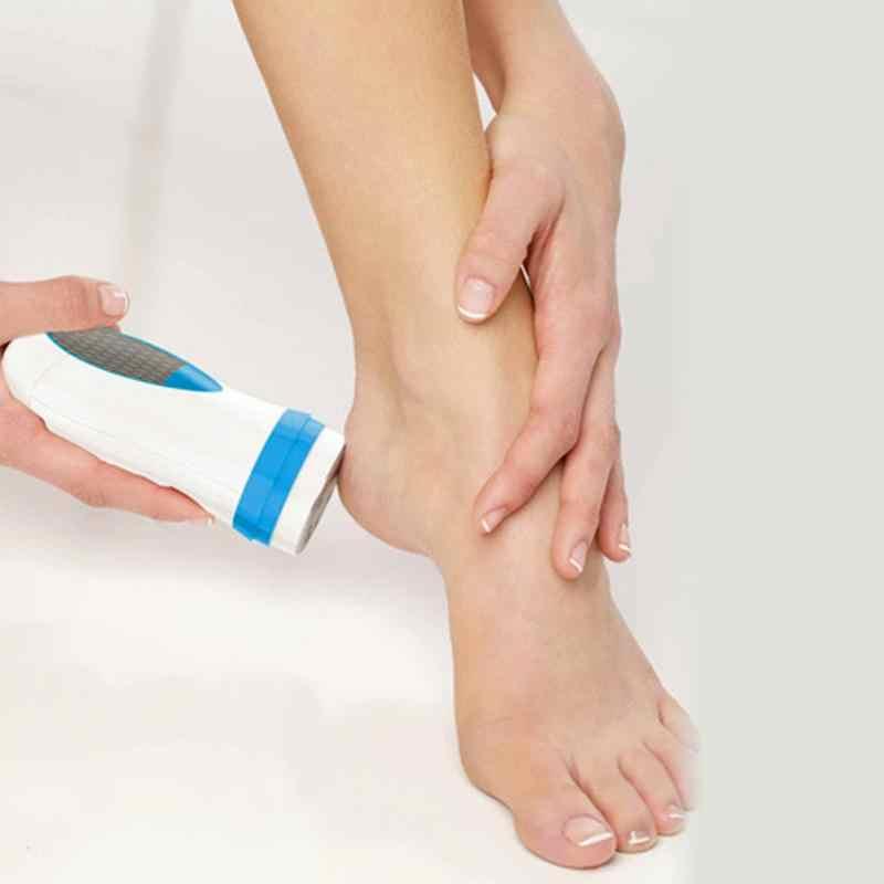 Di alta Qualità Pedi Spin TV Desquamazione della pelle Dispositivo di Macinazione Elettrica Cura del piede Pro Kit Pedicure Piede File Pelle Dura Callo Remover