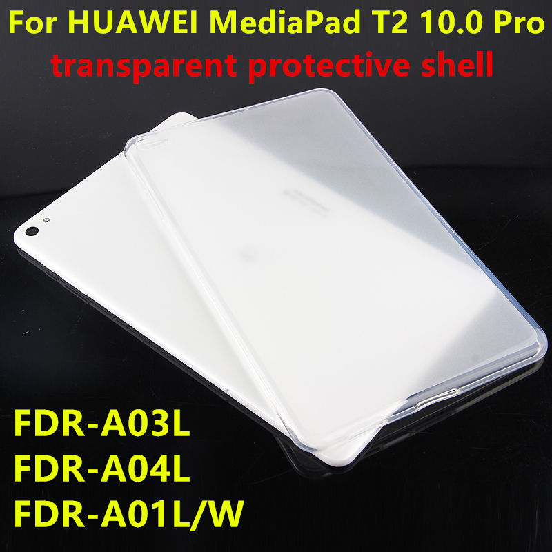 Case TPU For Huawei MediaPad T2 10.0 Pro Protector cover Leather Tablet For Huawei FDR-A01L/W/A03L/04L 10.1 Protective shell image