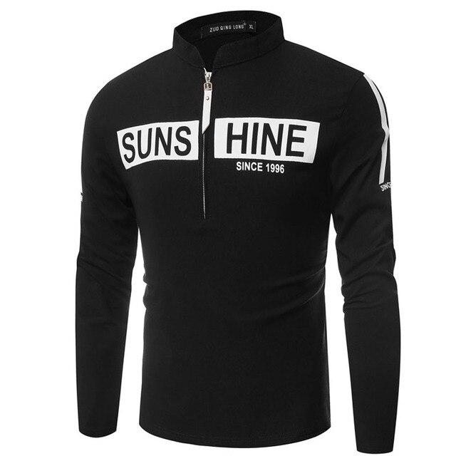 T Shirt Men 2017 Brand Long Sleeve Hip Hop Male Palace T-Shirts Mens 3D Stenciling Casual Mens Funny Tshirt Slim Tee Tops XXL Q