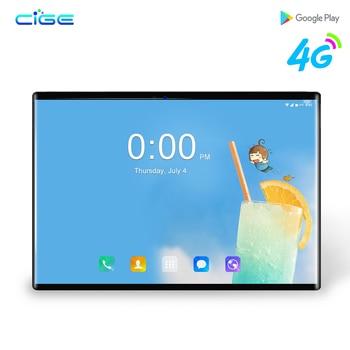 2019 Android 8,0 de descuento de la tableta de 10,1 pulgadas 1280*800 IPS Wifi 3G/4G llamada telefónica LTE MT8752 tarjeta SIM dual 6GB RAM 64GB ROM