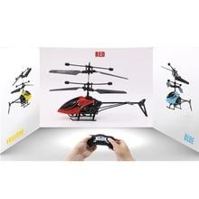 Çocuk oyuncakları Elektrikli Kızılötesi Uçan Müzik ve Işık ile Kırık dayanıklı Helikopter Uzaktan Kumanda Uçak H68