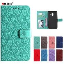 купить For Samsung Galaxy J2 Core Case 5.0 PU Leather Phone Case For Samsung Galaxy J2 Core J260G J260 SM-J260G J2core Case Flip Cover дешево