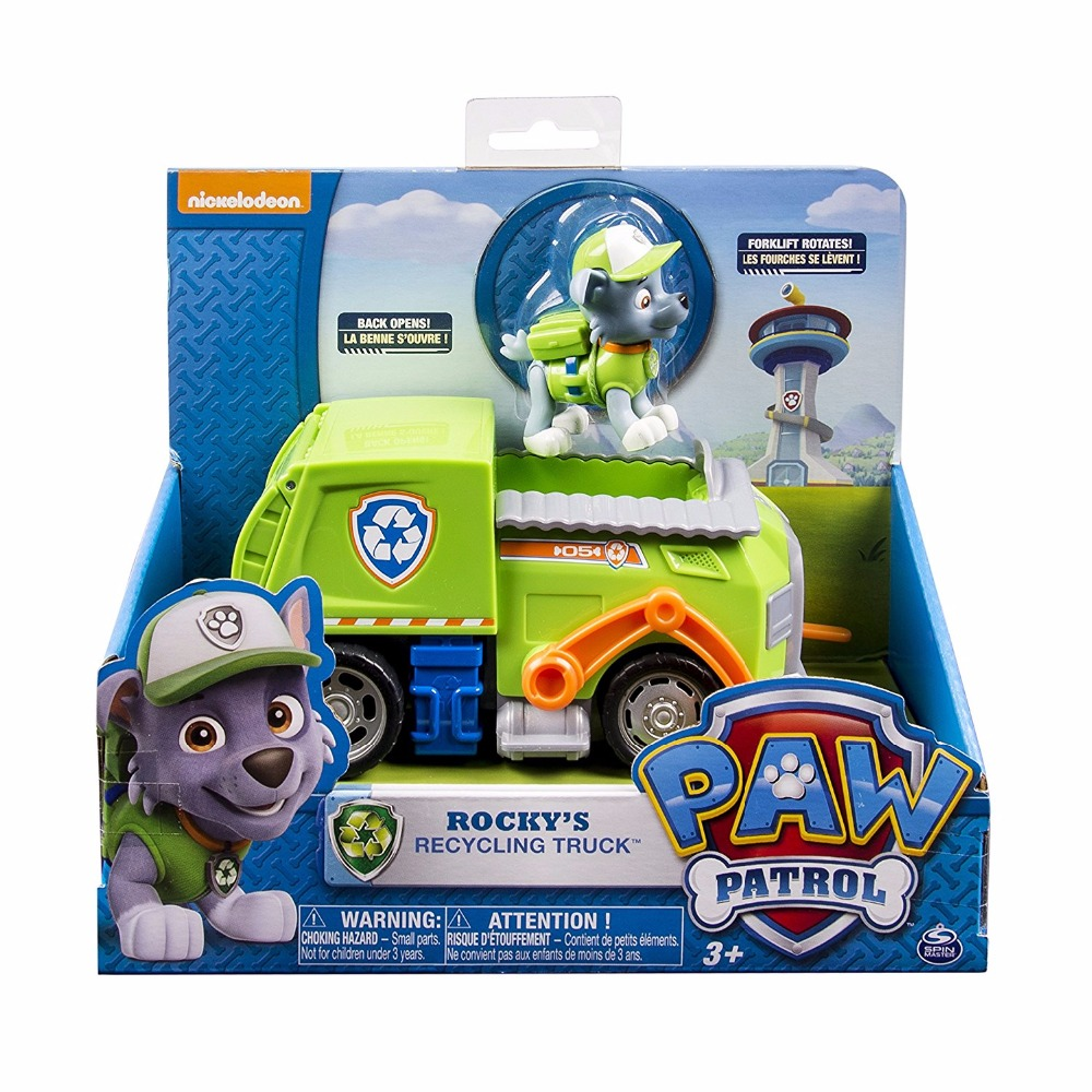 Genuine Paw Patrol Chase Marshall Rocky Zuma Skye Everest Tracker