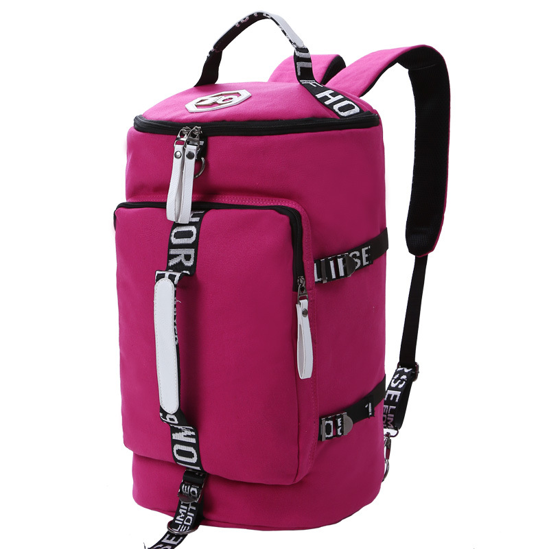 New Arrival CanvasTravel Bags for Women Large Capacity Portable Female Shoulder Bags Womens Handbags Vintage Travel Backpack