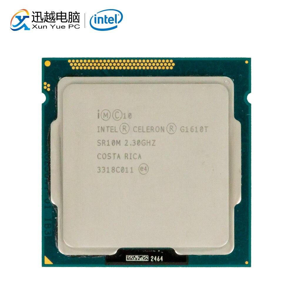 Intel Celeron G1610T Desktop Processor G1610T Dual-Core 2.3GHz 2MB L3 Cache LGA 1155 Server Used CPU