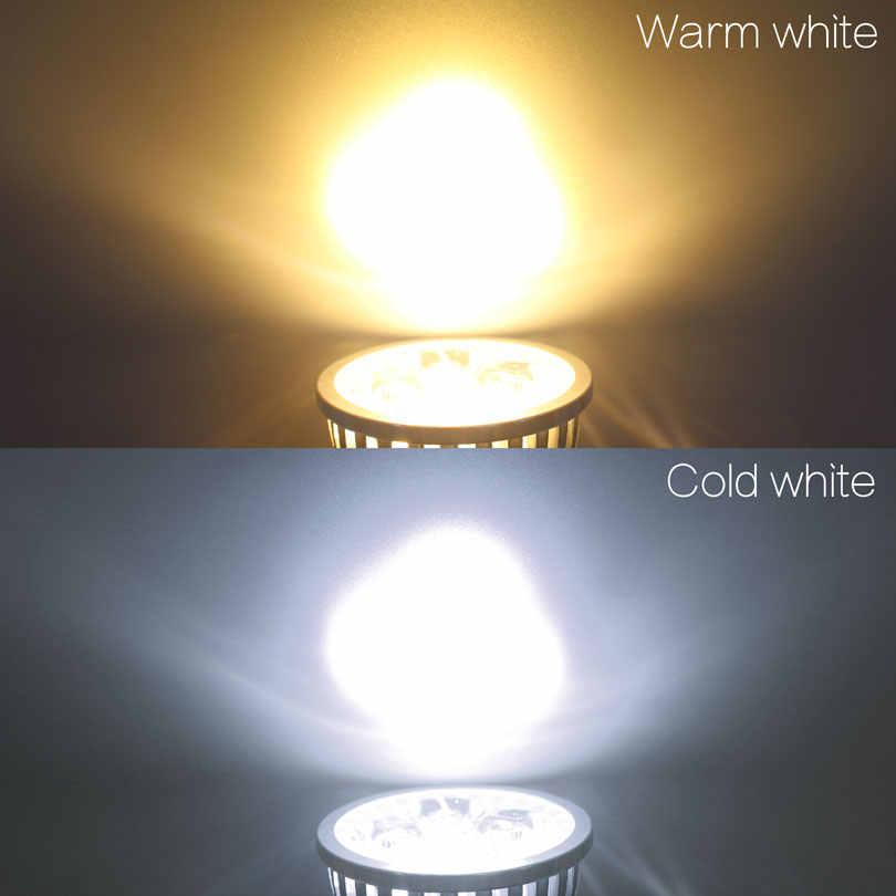 LED מנורת GU10 MR16 LED הנורה 9 W 12 W 15 W 220 V Lampada LED הקבל מנורת דיפוזיה זרקור אנרגיה חיסכון בית תאורה