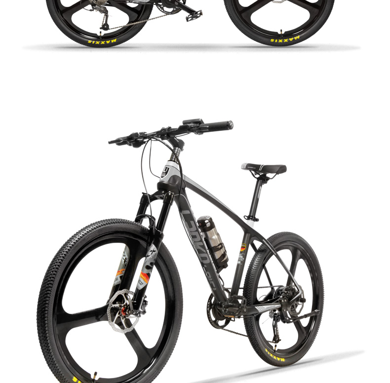 HTB1wlSXXdfvK1RjSspoq6zfNpXau - S600 26 Inch Electric Bicycle 240W 36V Removable Battery Lightweight Carbon Fiber Frame Hydraulic Disc Brake Pedal Assist Ebike