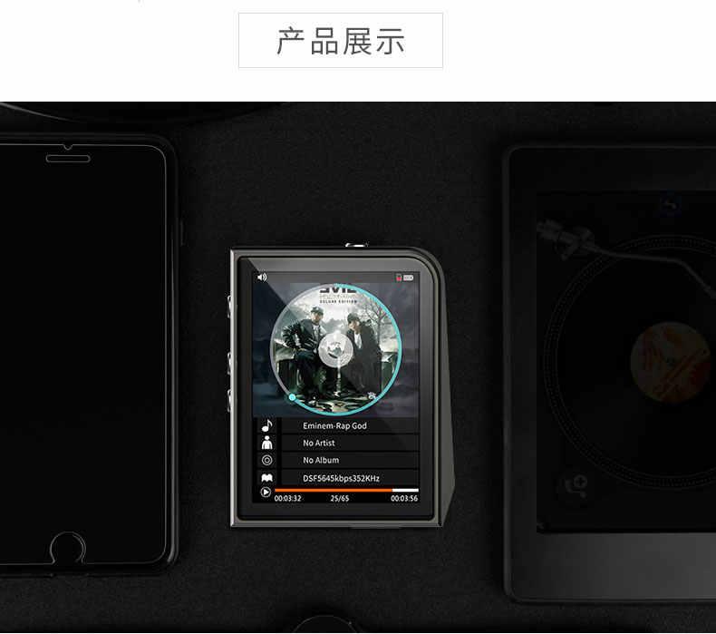 2017 оригинальные RUIZU A50 HD без потерь Мини Спорт MP3 плеер с 2,5 дюймов Экран Hifi MP3 музыкальный плеер Поддержка 128 г карты памяти/DSD25