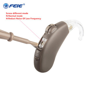 Image 2 - Invisible Hearing Aid Behind The Ear Sound Amplifier For Elderly Adjustable Volume Machine High Power care S 203 Deafness Device