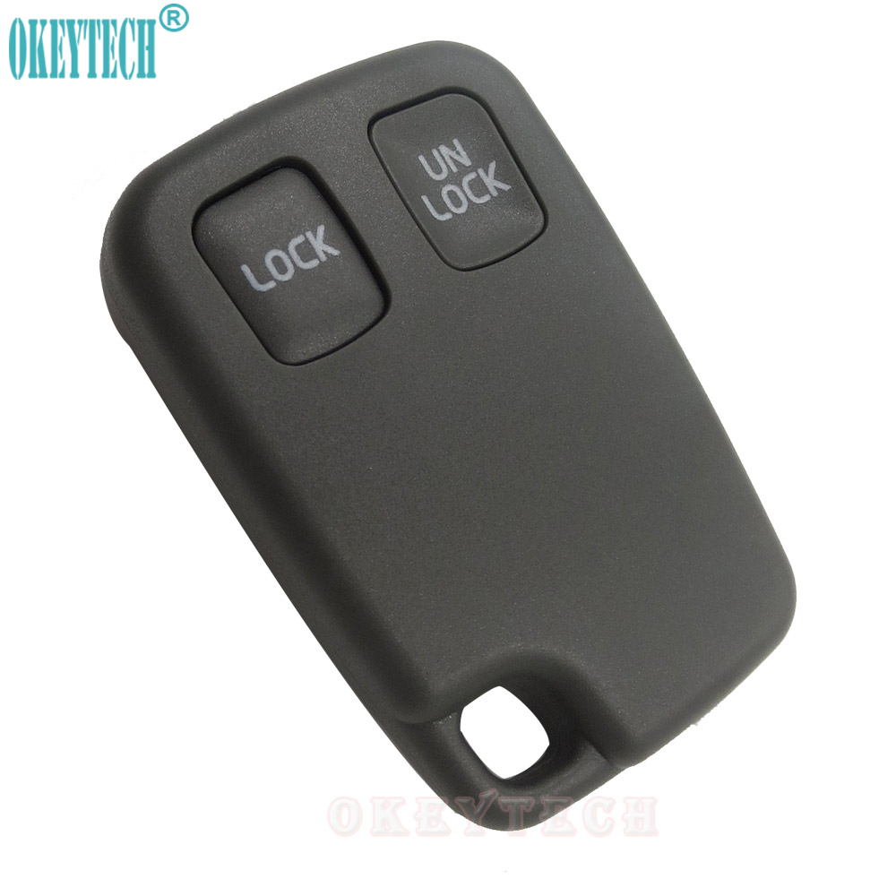 OkeyTech 2 Buttons Replacement Remote Key Fob Case Car Key Shell Case Cover for VOLVO S40 S60 S70 S80 S90 V40 V70 V90 XC70 whatskey uncut blade transponder ignition car key shell case for volvo s40 s60 s70 s80 v40 v70 xc60 xc70 xc90 850 960 c70 v7 d30
