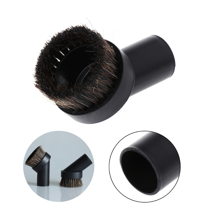32mm Mixed Horse Hair Round Cleaning Brush Head Vacuum Cleaner Accessories Tool JAN07 Dropship