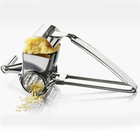 Manual Control Stainless Steel Cheese Graters Butter Cutting Cheese Planer Slicer Grater For Chocolate Cheese Kitchen Tools