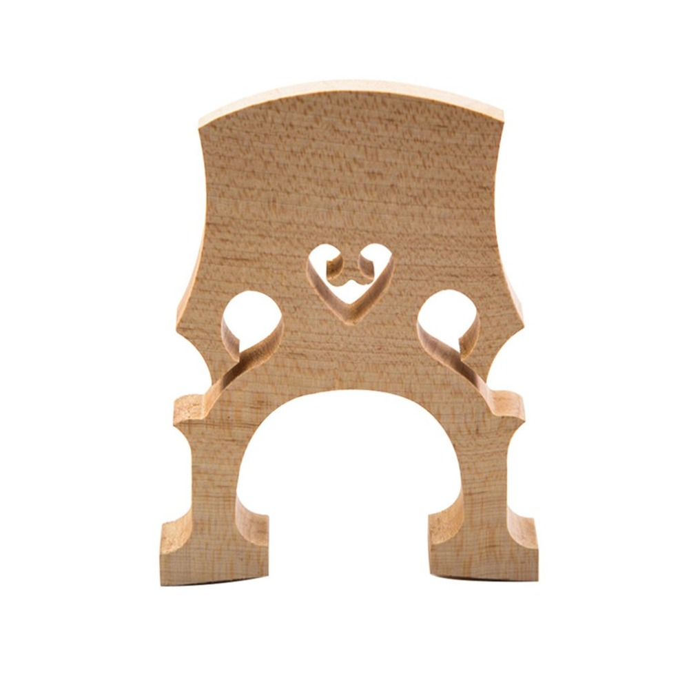 1PCS Exquisite Wood Violin Bridge Size 3/4 French Style For Violin Strings Musical Instruments Parts Accessory