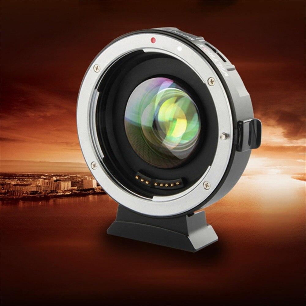 VILTROX EF-M2 0.71x Électronique Autofocus Réducteur Vitesse Booster Turbo Adaptateur pour Objectif Canon à M4/3 caméra GH4 GH5 GF6 GX7 OM-D